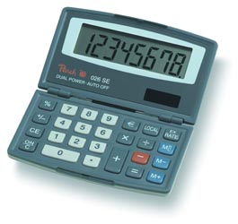 Peach Pocket calculator 026 SE PR650
