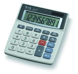 Peach Desktop Display calculator 1004 SE PR660