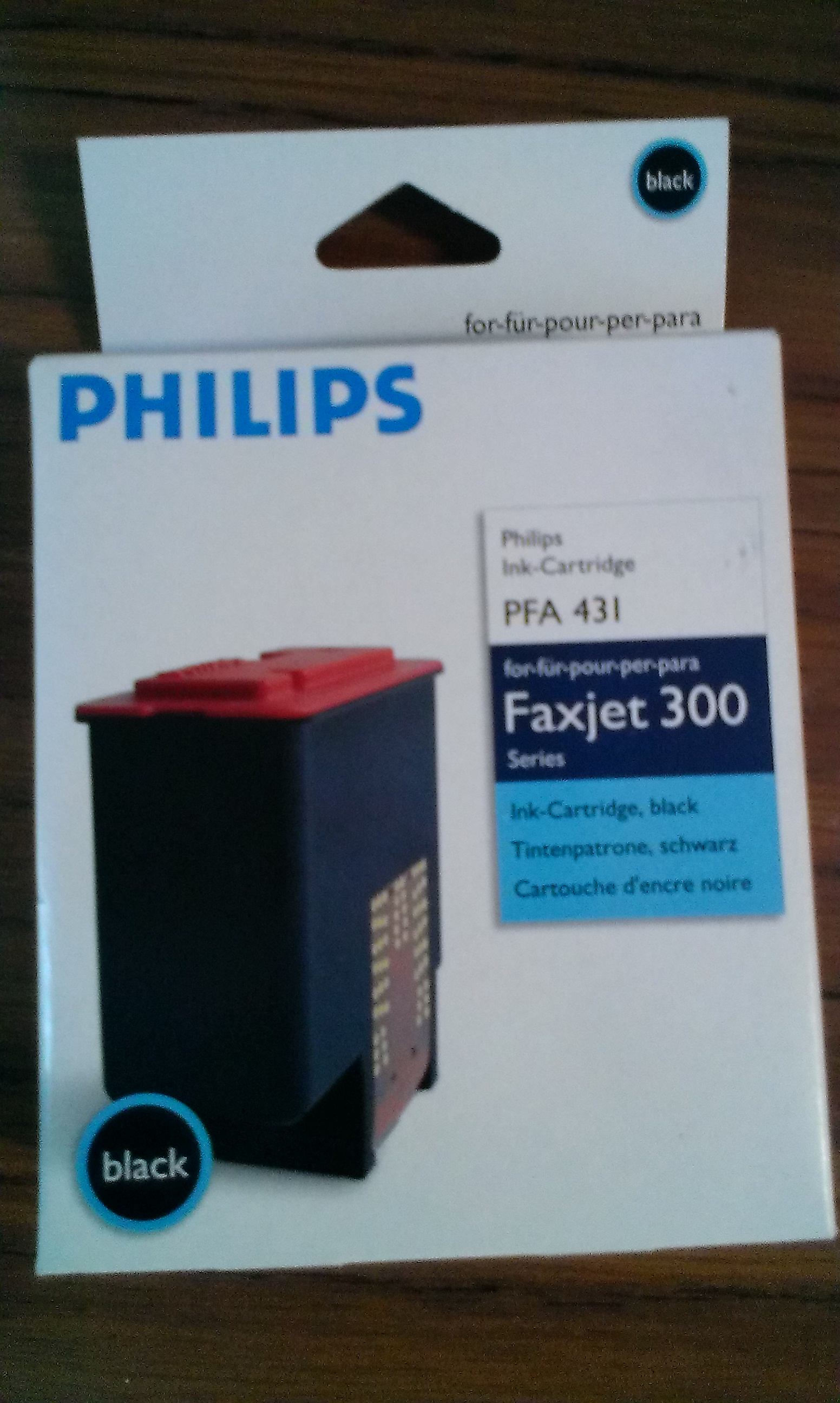 cartridge Philips PFA 431 black - originální