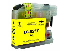 Cartridge Brother LC-525XLY - kompatibilní