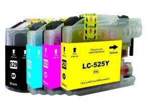 Cartridge-SET Brother LC-525XLCMYK - kompatibilní