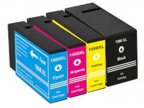Cartridge-SET Canon PGI-1500XLCMYK - kompatibilní
