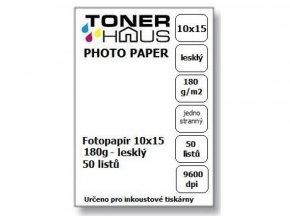 Fotopapír 10x15 180g (50 listů) - lesklý