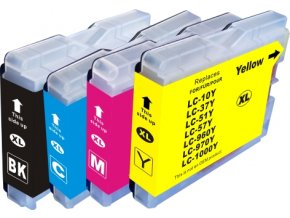 Cartridge-SET Brother LC-970CMYK - kompatibilní