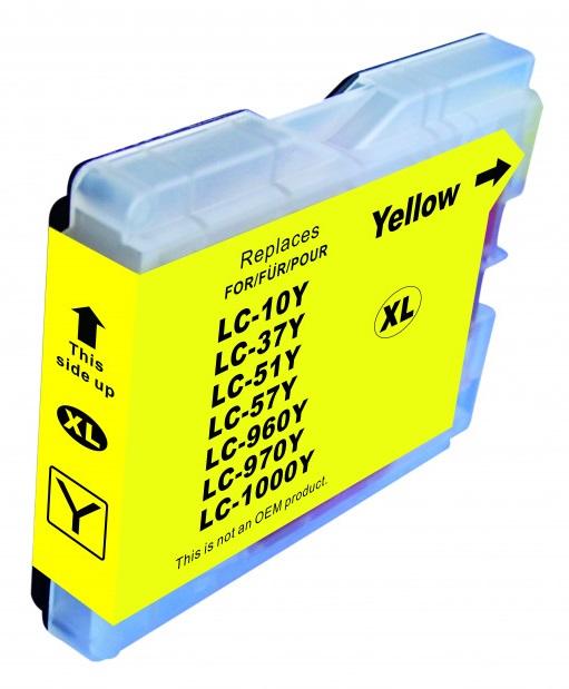 Cartridge Brother LC-1000Y - kompatibilní
