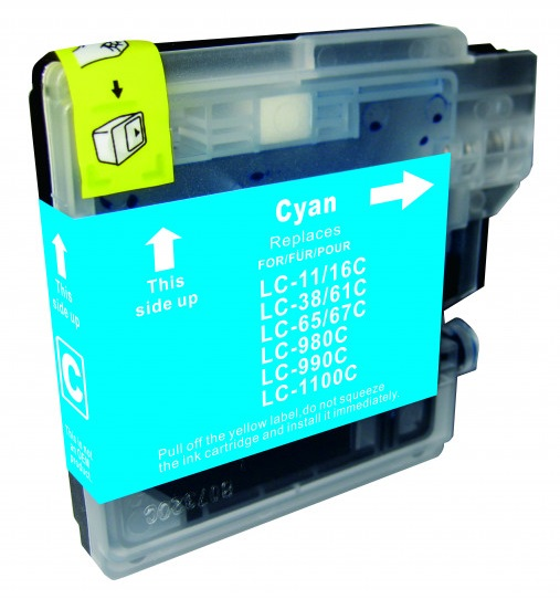Cartridge Brother LC-1100C - kompatibilní