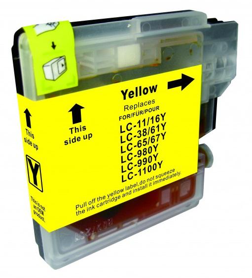 Cartridge Brother LC-1100Y - kompatibilní
