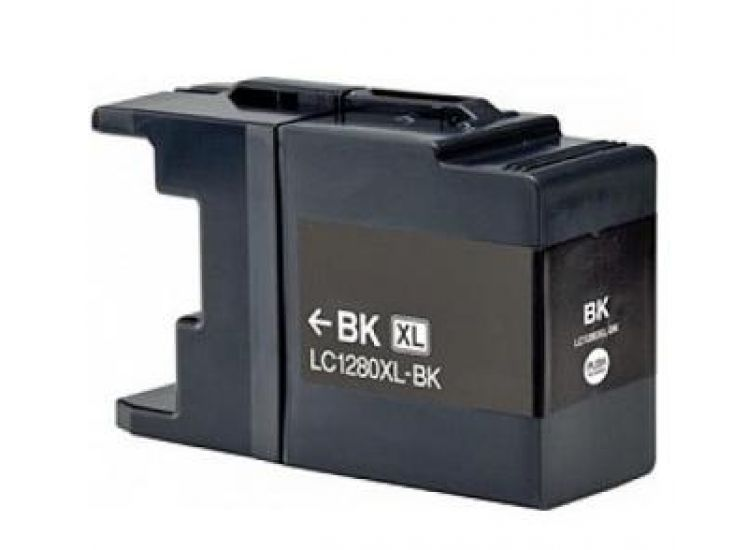 Cartridge Brother LC-1280XLBK - kompatibilní
