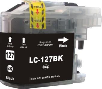 Cartridge Brother LC-127XLBK - kompatibilní
