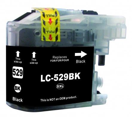 Cartridge Brother LC-529XLBK - kompatibilní