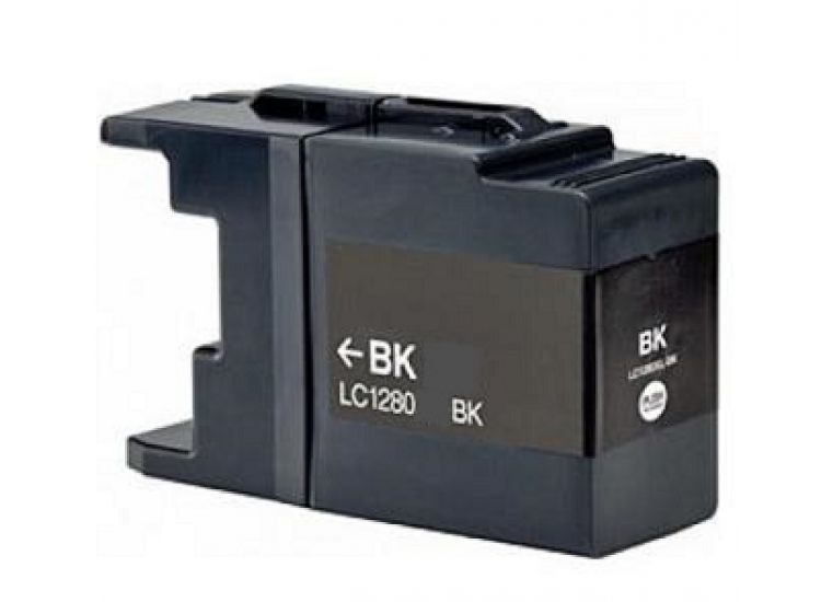 Cartridge Brother LC-1280BK - kompatibilní