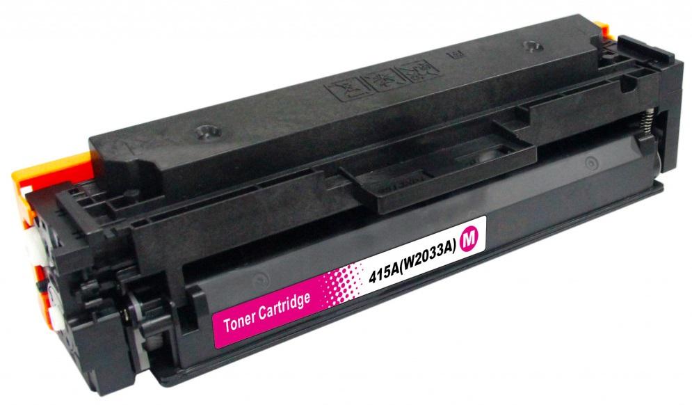 Toner (bez čipu) HP W2033A - kompatibilní