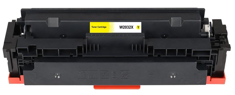 Toner (bez čipu) HP W2032X - kompatibilní