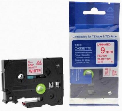Páska do štítkovače Brother TZ-222 - kompatibilní