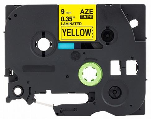 Páska do štítkovače Brother TZ-621 - kompatibilní