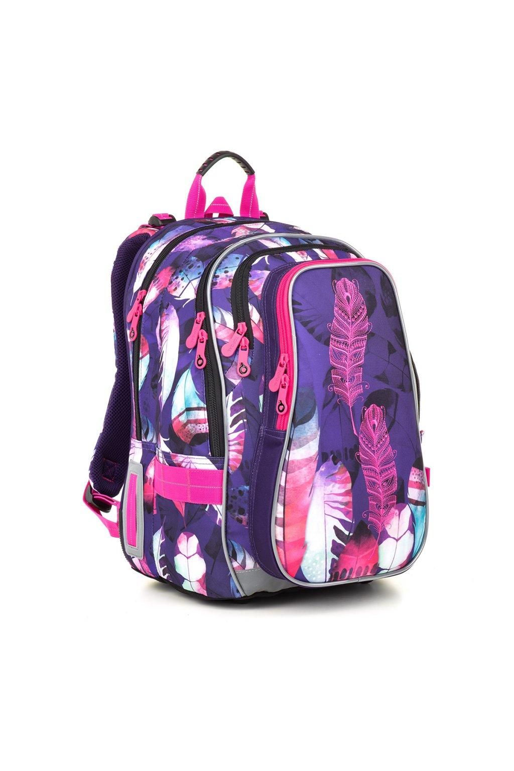 dívčí školní batoh topgal lynn 18009 g