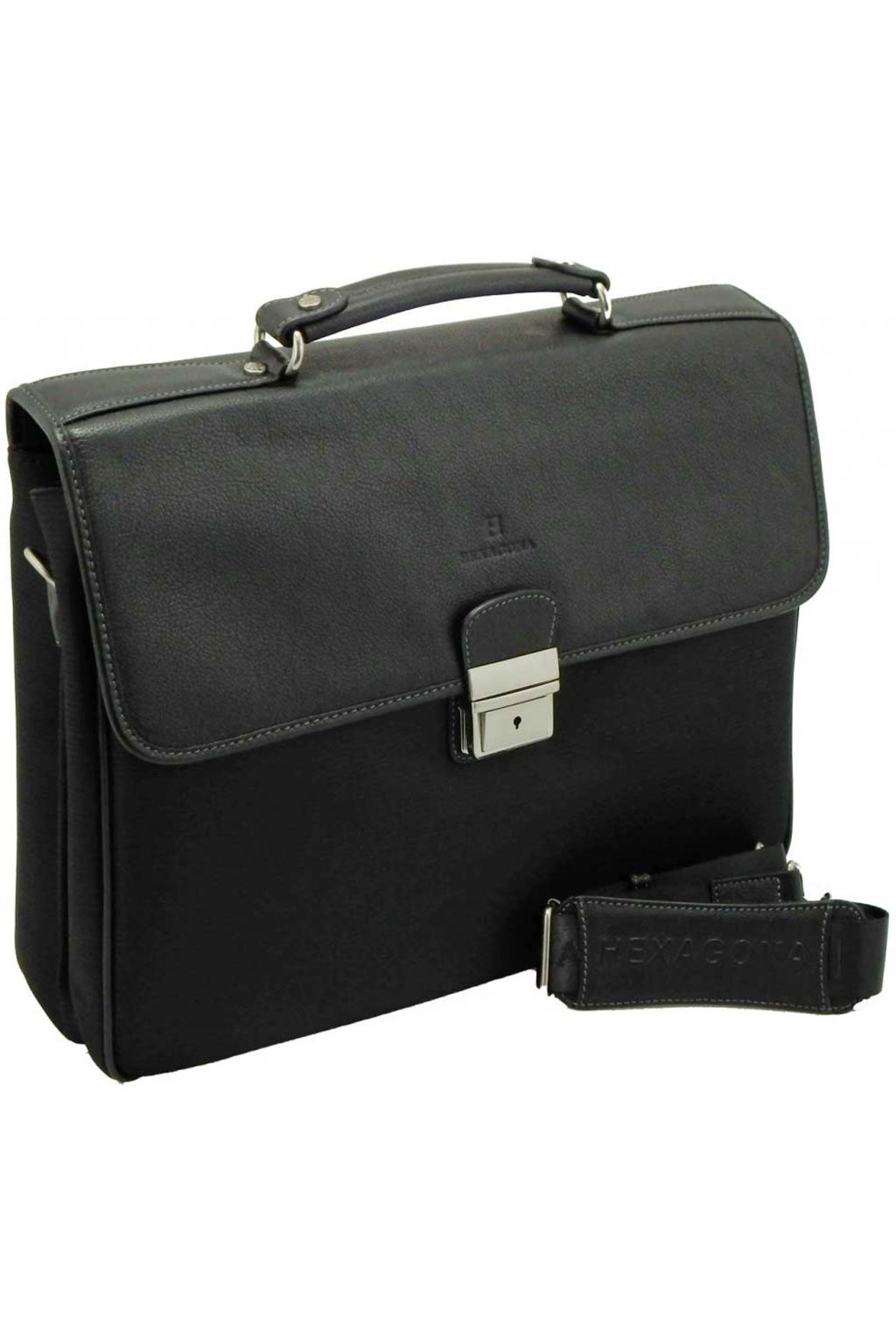 Pánská kožena taška černa PKT03 293808