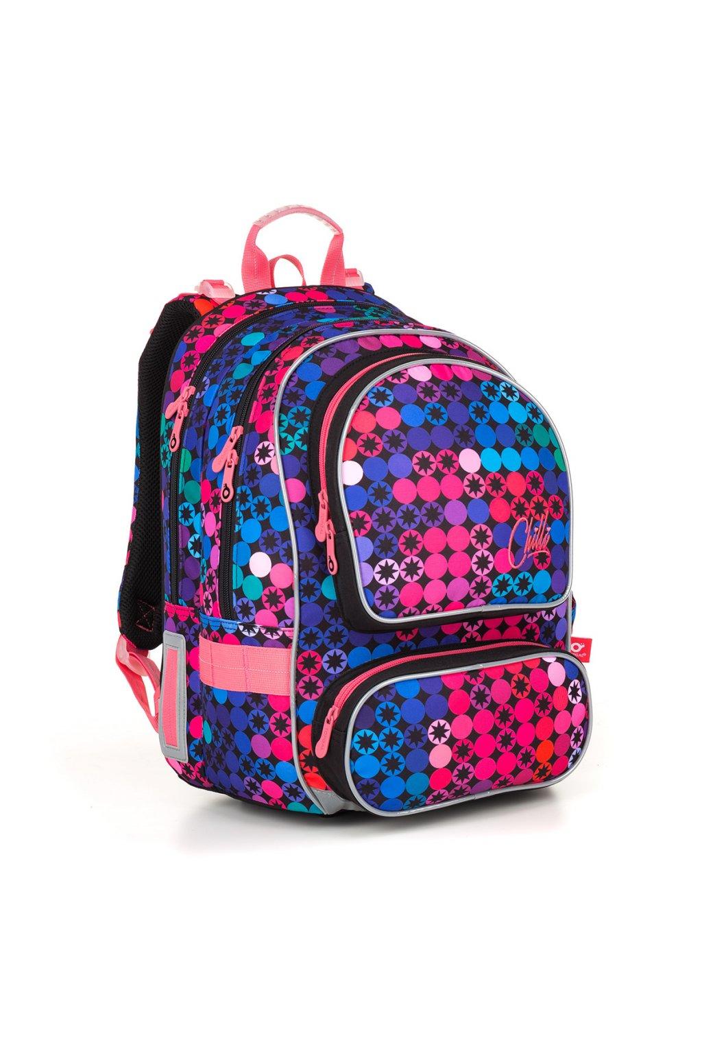 dívčí školní batoh topgal ally 18012 g