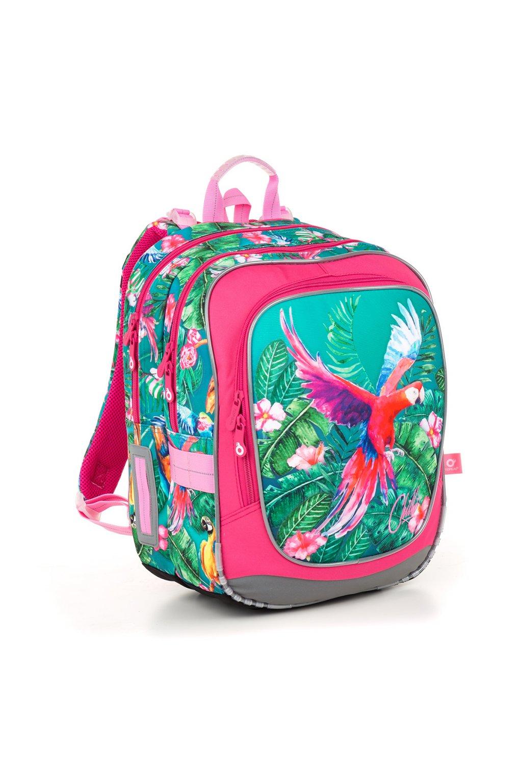 dívčí školní batoh topgal endy 18001 g