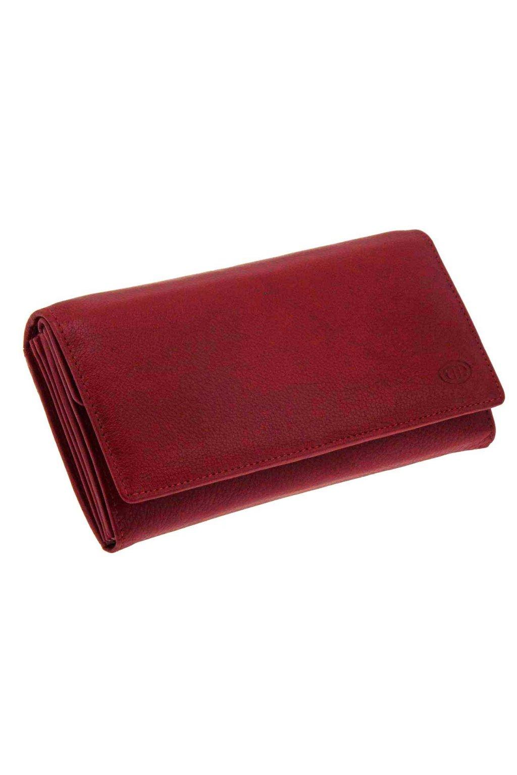 damska kozena penezenka cervena DKP18 S1174 07
