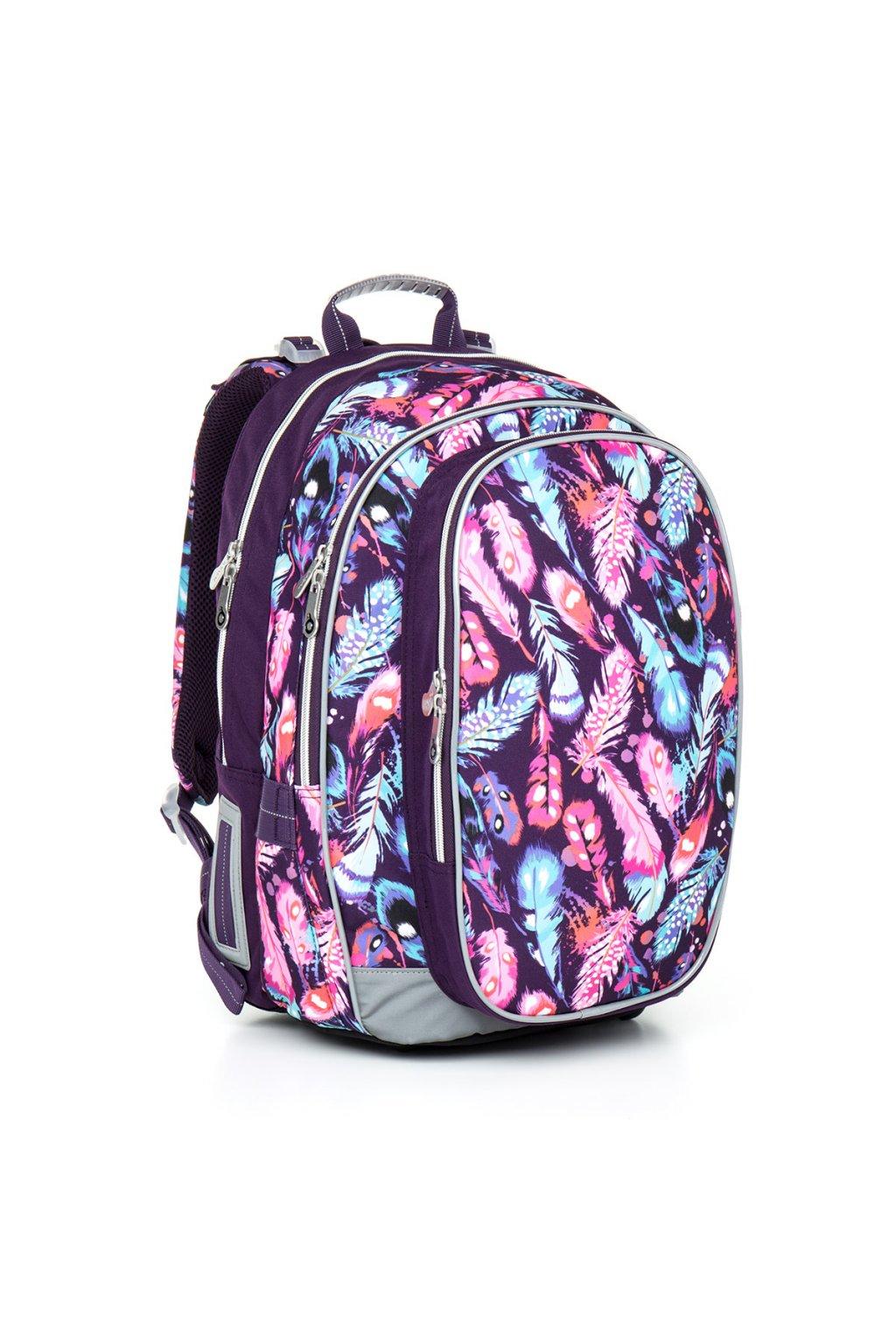 dívčí školní batoh topgal chi 796 h