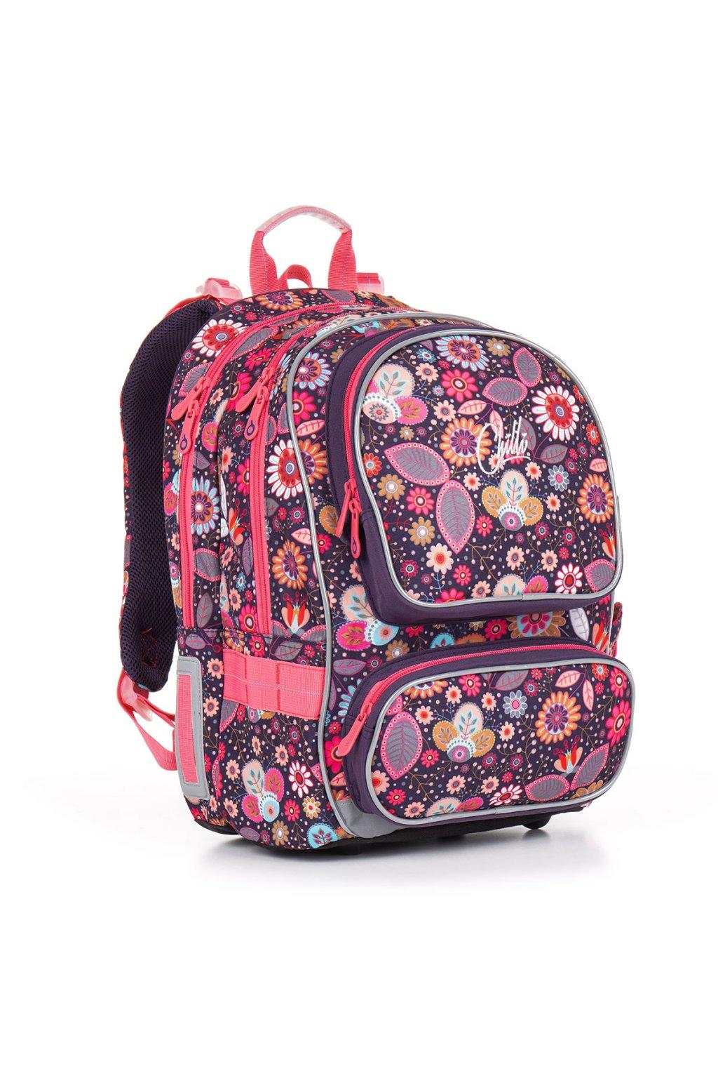 dívčí školní batoh topgal chi 844 i