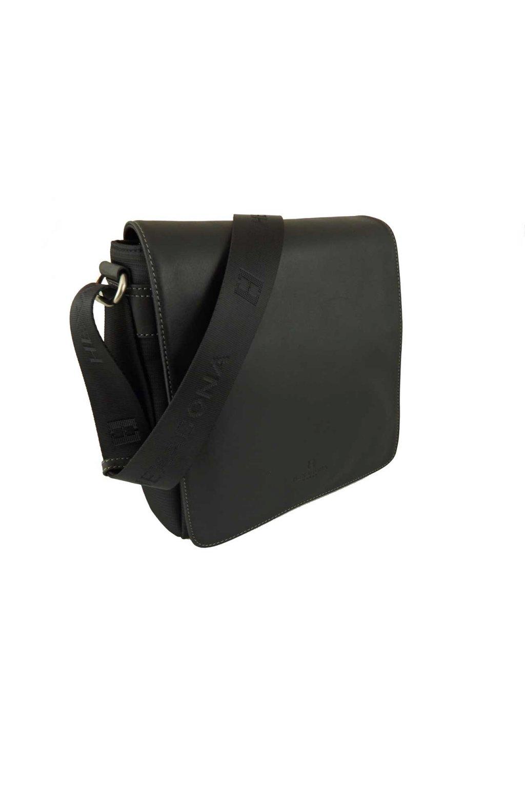 panska kozena taska pres rameno cerna PTK03 299156 2
