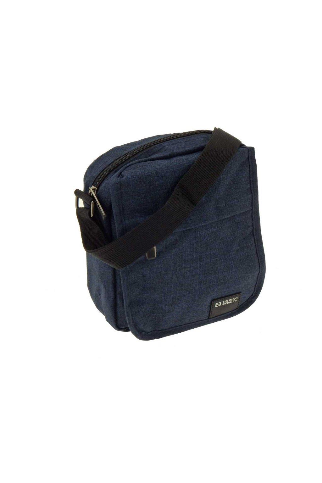 pánská taška přes rameno malá černá PK03 47173