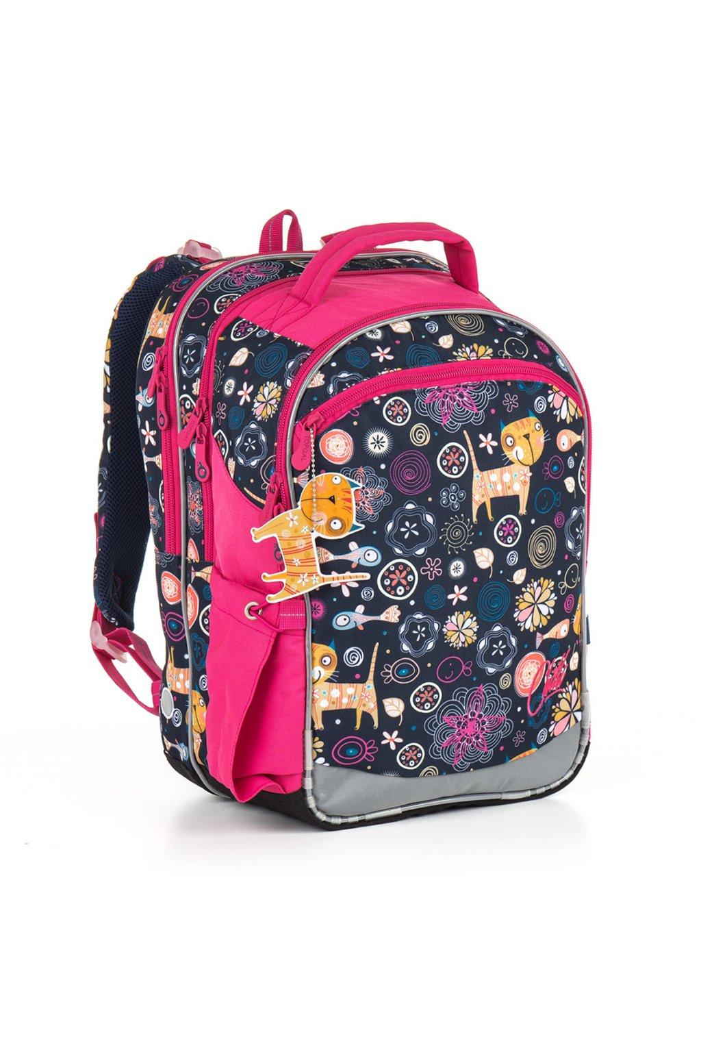 dívčí školní batoh topgal chi 876 d