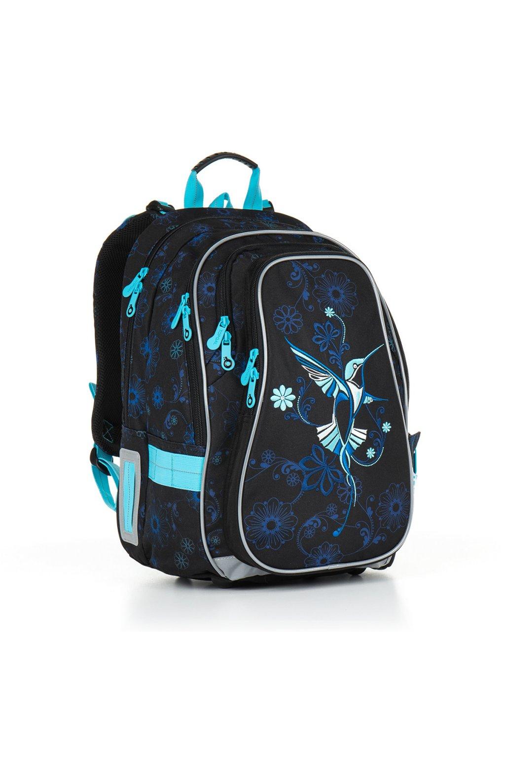 dívčí školní batoh topgal chi 882 a