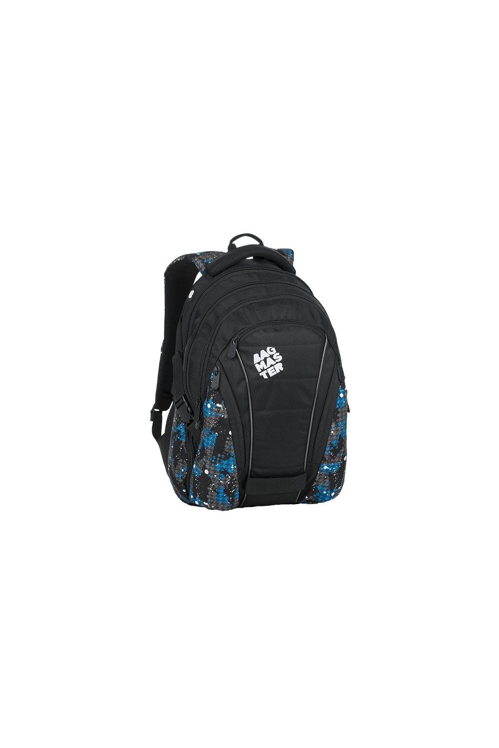 BAG 9D BLUE GRAY BLACK 1 kopie