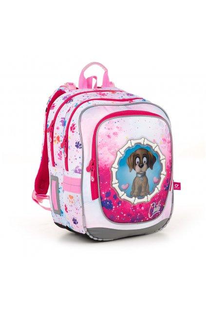 dívčí školní batoh topgal endy 18017 g