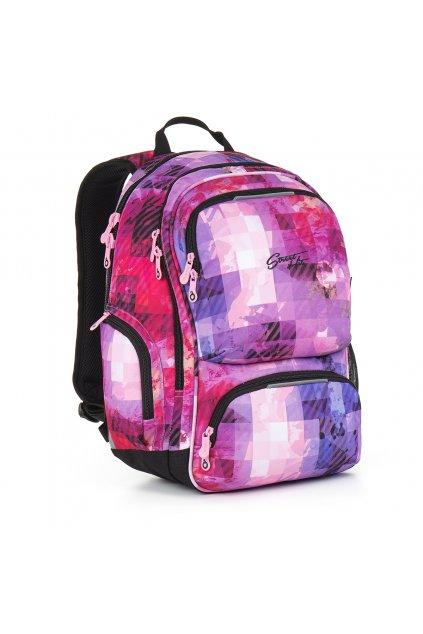 dívčí studentský batoh topgal hit 891 h