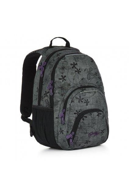 dívčí studentský batoh topgal hit 897 c