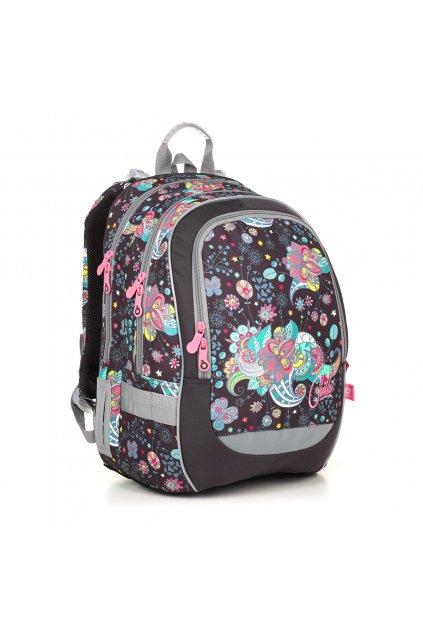 dívčí školní batoh topgal coda 18006 g