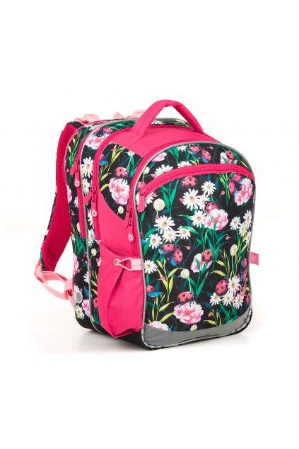 dívčí školní batoh topgal coco 18004 g