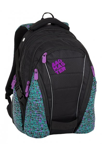 BAG 8C BLACK WHITE VIOLET 1