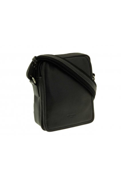 panska kozena taska pres rameno cerna PKK03 204568