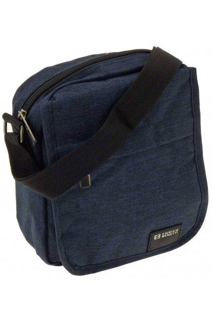 pánská taška přes rameno malá modra PK03 47173