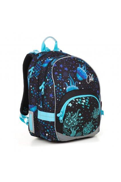 dívčí školní batoh topgal kimi 18013 g