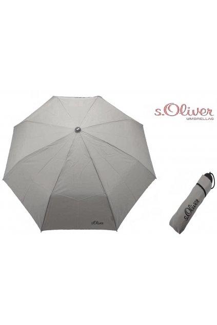 dámský deštník soliver šedý