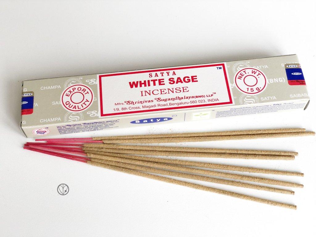Vonné tyčinky Satya WHITE SAGE