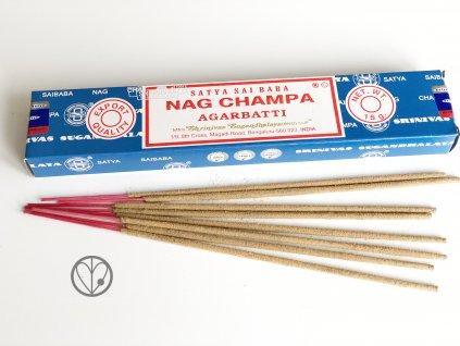 Vonné tyčinky Shrinivas Satya - NAG CHAMPA agarbatti