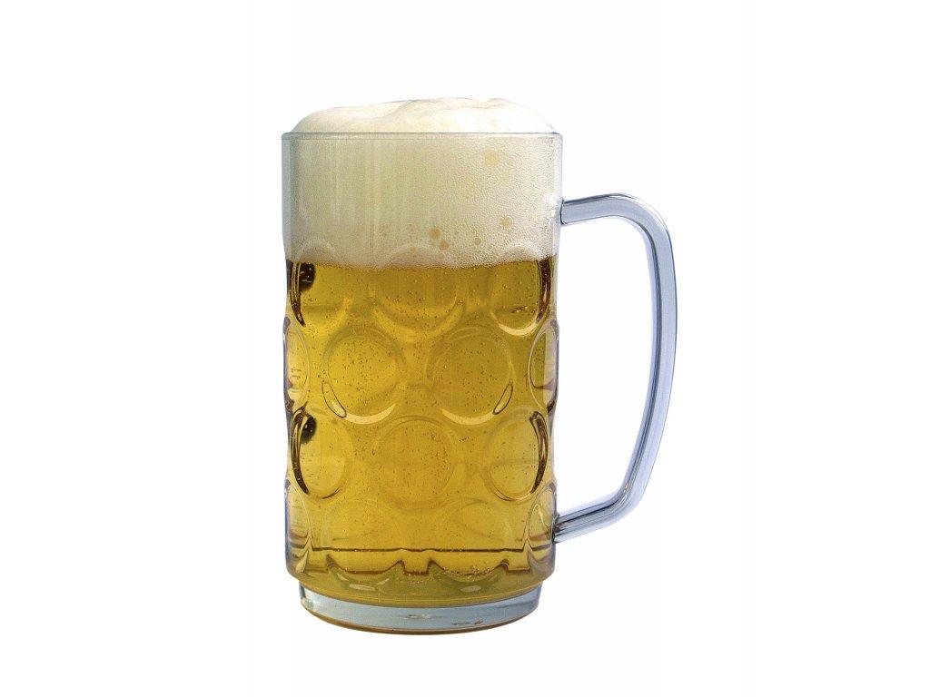 456 pullitr na pivo plastovy