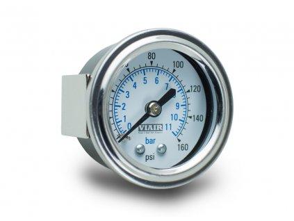 5105 viair ukazatel tlaku 1 5 jednorucickovy bily do 11 bar 160 psi