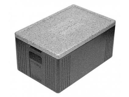 Termobox GN1/1 600x400x300mm, BASTA-BOX XL, 44 l, šedý