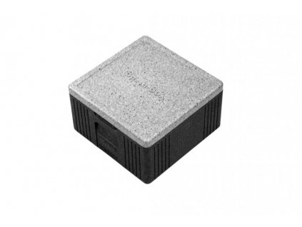 "Termobox ""pizza"" 400x400x220mm, BASTA-BOX S, 21 l, šedý"