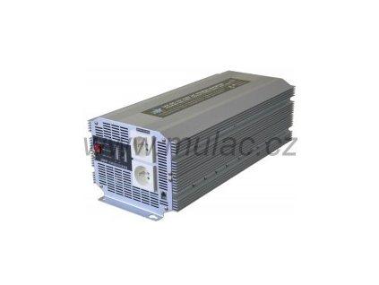 Měnič napětí 12V/230V 2500W HQ měnič napětí DC/AC; 2500W; hq2500/12