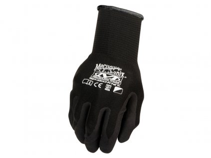 rukavice mechanix knit nitrile cerne 202063212216