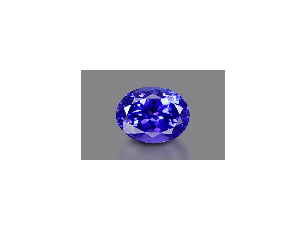 Tanzanite 10x8 mm Deluxe Quality